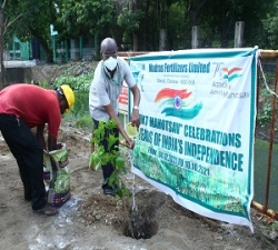Tree Plantation by GM- P&A -MFL (2)